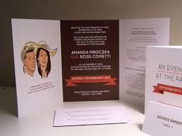 tri fold wedding invitations tri fold wedding invitations reduxsquad