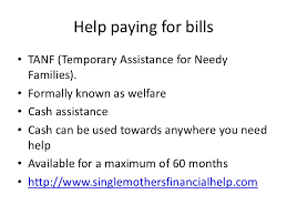 financial help for single mothers
