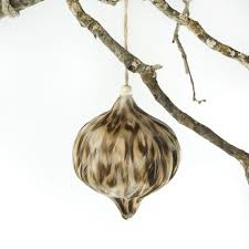 duck feather ornament teardrop