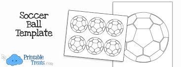 printable soccer ball template u2014 printable treats com
