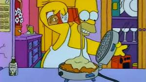 homer simpson how to make homer simpson s space age moon waffles