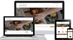 themes wordpress restaurant free brasserie free wordpress restaurant theme from template express