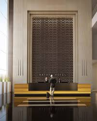 Hotel Lobby Reception Desk by Strong Materials Clean Lines For The Area Behind The Desk It