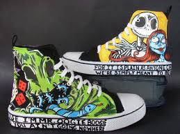 custom nightmare before shoes sally by