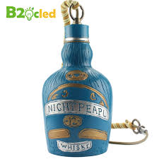 Blue Bottle Chandelier by Awesome Wine Bottle Pendant Light Home Interior Design Bottle And