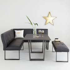 black dining table with bench corner dining sets the furniture co
