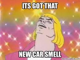 New Car Meme - car smell