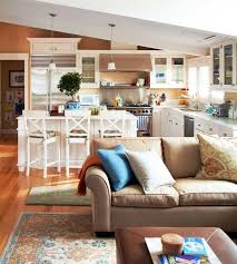 Kitchen Living Space Ideas Best 20 Small Kitchen Family Room Combo Ideas On Pinterest