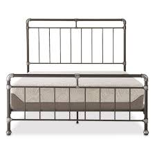 Platform Bed With Mattress Tranquil Sleep 10