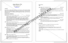 sample resume for new cpa cv template professional sample cover letter