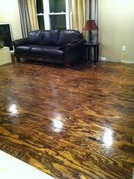 Basement Floor Stain by How To Acid Staining Basement Floors Directcolors Com