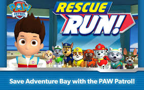 paw patrol rescue run android apps google play