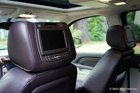 cadillac escalade dvd player esv really stands for entertainment system vehicle 2011