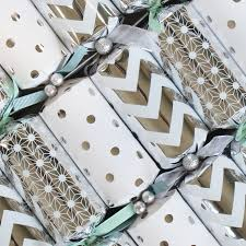 Mixed Patterns by Silver Mixed Patterns Glenart Christmas Crackers