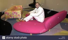 Karim Rashid Dpa Designer Karim Rashid From New York Presents His Furniture