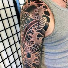 50 koi fish designs for japanese symbol of masculinity