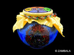 Buddhist Treasure Vase 2 Arms Bernagchen Mahakala Blessed Treasure Vase S Dharma
