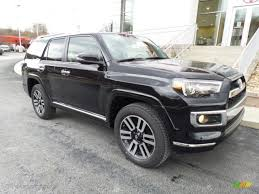 toyota 4runner 2017 black 2017 midnight black metallic toyota 4runner limited 4x4 118900076
