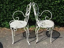 vintage patio furniture fresh lawn garden chic matching pair vintage