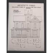 dollhouse plans design 7 architect u0027s choice 1 12 scale victorian