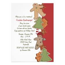 personalized gingerbread invitations custominvitations4u com