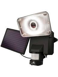 Commercial Solar Powered Flood Lights by Solar Powered Security Lights Solar Security Camera Floodlight