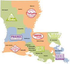Map Of Louisiana by Louisiana U0027s Culinary Trails Louisiana Travel