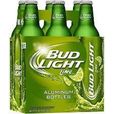 how much is a six pack of bud light bud light lime beer 6 pack 16 fl oz aluminum bottles walmart com