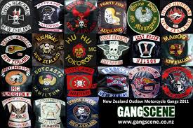 outlaw biker patches new zealand gangs chapter patches patched