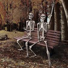 posable skeleton 5ft size posable skeleton prop for party