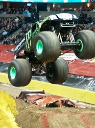 monster trucks grave digger bad to the bone up down and all around monster jam 2012