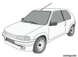 coloriage voiture dessin à imprimer gratuit