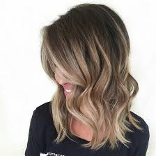 medium length hairstyles with color caramel blonde highlights shoulder length hair hairstyle picture