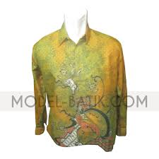 Baju Batik Batik kemeja batik batik semi baju batik pria bm p 20