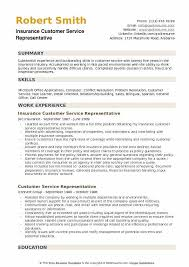 customer service resume insurance customer service representative resume sles qwikresume