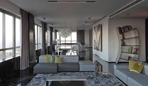 excellent grey livingroom in interior decor home with grey