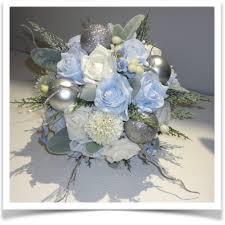 Blue Wedding Bouquets Christmas U0026 Winter Wedding Bouquets