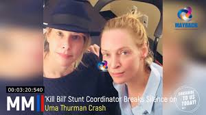 Hollywood S Most Toxic Bromance The Implosion Of Charlie - exclusive stunt coordinator breaks silence on uma thurman crash