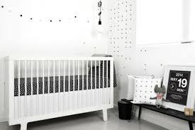 chambre bebe blanc idées de décoration chambre bébé fille en noir et blanc