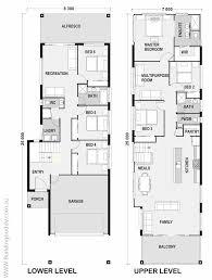 narrow lot house plan maleleuca small lot house floorplan by http buildingbuddy