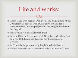 common themes in short stories of james joyce james joyce