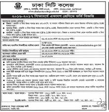 senior accountant resume summary dhaka city college admission result and application 2016 dhaka city college admission