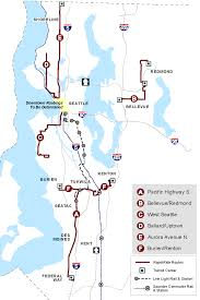 Seattle Bus Route Map by New Routes Coming Online For Rapidride The Northwest Urbanist