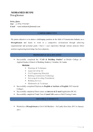 Examples Of A Great Resume by 100 Example Of A Good Cv Examples Of Skills For Resume