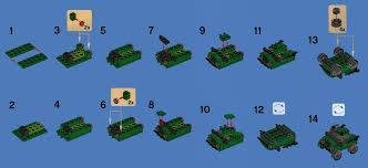 jeep instructions philippine bricksters build tip green jeep editions