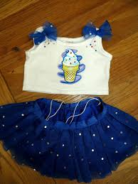 clothes for build a build a clothes blizzard dairy blue sequin