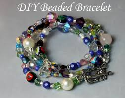 bead bracelet easy images Summer fun simple jewelry making tutorial leslie co jpg