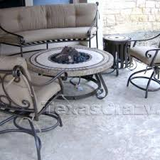 Texas Fire Pit by Shop Texas Outdoor Patio Furniture Dining Tables And Fire Pits