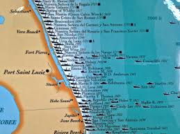 Florida Map Of Beaches by Finally Embracing Being Florida U0027s U201ctreasure Coast U201d Slr Irl