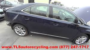 buy lexus hs 250h 2011 lexus hs250h parts for sale 1 year warranty youtube